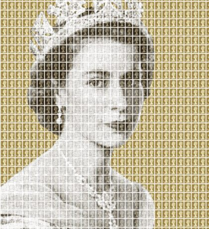 God Save The Queen - Gold Sticker