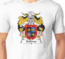 Salinas Coat of Arms/Family Crest Unisex T-Shirt