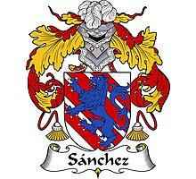 Sanchez Coat of Arms/Family Crest Photographic Print
