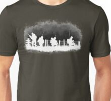Soldiers greyscale Unisex T-Shirt
