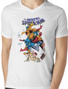 Spider-man vs Hobgoblin  Mens V-Neck T-Shirt