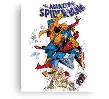 Spider-man vs Hobgoblin  Canvas Print