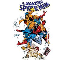 Spider-man vs Hobgoblin  Photographic Print