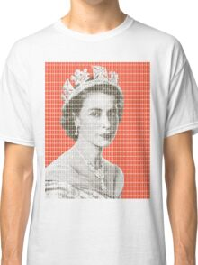 God Save The Queen - Orange Classic T-Shirt