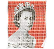 God Save The Queen - Orange Poster