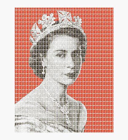 God Save The Queen - Orange Photographic Print