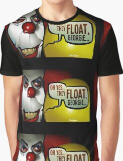 They Float, Georgie Graphic T-Shirt