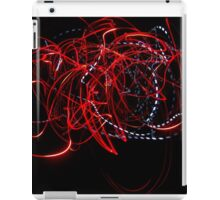Red Lightning  iPad Case/Skin