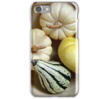 Three Little Pumpkins and a Gourd iPhone Case/Skin