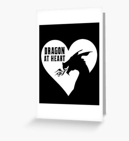 Dragon at Heart - Fantasy Greeting Card