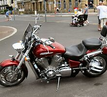 BIG V-TWIN HONDA  TOURER. by ronsaunders47