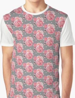 Peony Bloom Collection- Pattern 2 Graphic T-Shirt