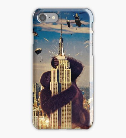 Empire State Of Destruction iPhone Case/Skin