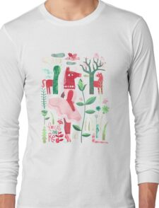 Horses are red Long Sleeve T-Shirt