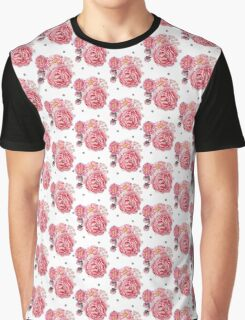 Peony Bloom Collection- Pattern 3 Graphic T-Shirt