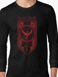 GoT inspired Team Valor banner design Long Sleeve T-Shirt