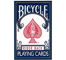 Bicycle blue deck by masxxi