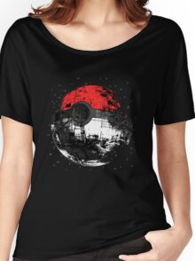 Pokemon Death Star Ultimate ! Women's Relaxed Fit T-Shirt