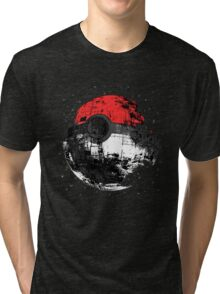 Pokemon Death Star Ultimate ! Tri-blend T-Shirt