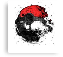 Pokemon Death Star Ultimate ! Canvas Print