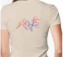 Swallow dive Womens Fitted T-Shirt