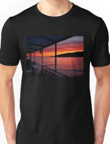 "Sunrise on board of F/B ""Aiolis"" Unisex T-Shirt"
