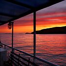 "Sunrise on board of F/B ""Aiolis"" by Hercules Milas"