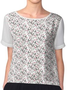 Peony Bloom Collection- Pattern 6 Chiffon Top