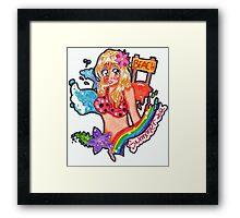 beach girl 2012 Framed Print