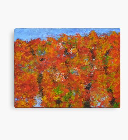023 Fall Colors Canvas Print