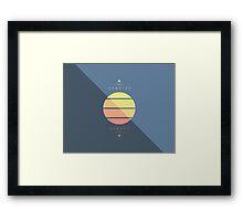 Sun Cycle Framed Print