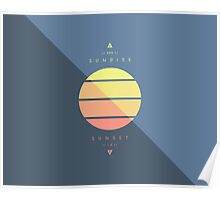 Sun Cycle Poster