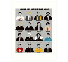 TV series Art Print