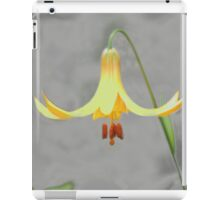 Wild Lilly one of the woodlands best iPad Case/Skin