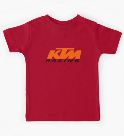 KTM RACING LOGO Kids Tee