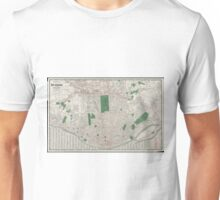 Vintage Map of St. Louis Missouri (1921) Unisex T-Shirt