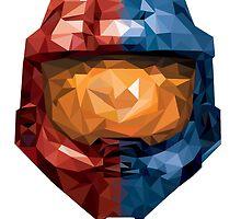 RVB Helmet by billybouffant