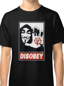 DISOBEY (Anonymous) Classic T-Shirt