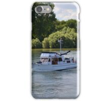 Grand Banks Style Motor Boat iPhone Case/Skin