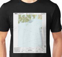 USGS TOPO Map Alaska AK Cordova C-7 355201 2000 63360 Unisex T-Shirt