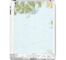 USGS TOPO Map Alaska AK Cordova C-7 355201 2000 63360 iPad Case/Skin