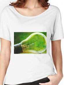 Light bulb Women's Relaxed Fit T-Shirt