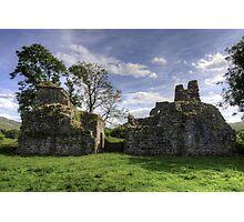 Pendragon Castle, Cumbria Photographic Print