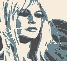 Brigitte Bardot Poster 2 by ArtByRuta