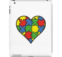Autism Awareness Heart iPad Case/Skin