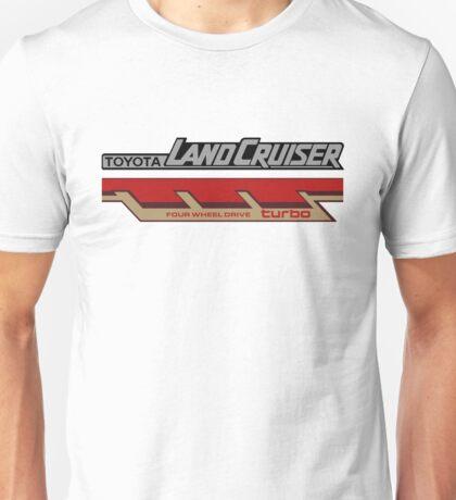 Land Cruiser body art series, four wheel drive turbo Unisex T-Shirt