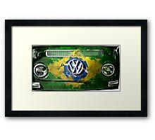 VW BRAZIL Framed Print