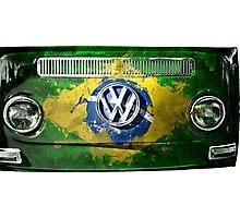 VW BRAZIL Photographic Print