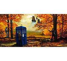Dr Who painting Photographic Print