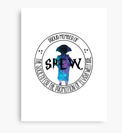 Proud Member of S.P.E.W. Canvas Print